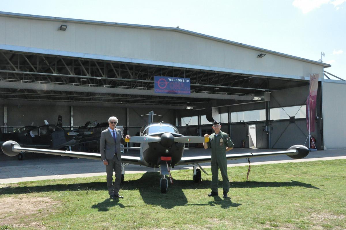 Consegnato il primo T-260B revisionato in OMA