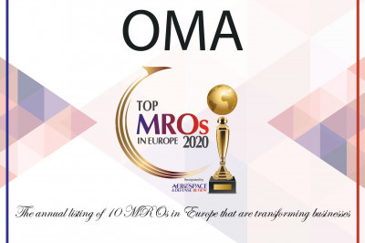 OMA is one of the top 10 MROs in Europe in 2020